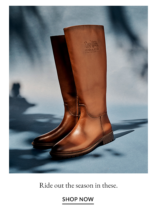 Ride out the season in these. SHOP NOW